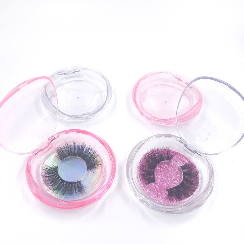 Pink and Clear Shell Box RB002