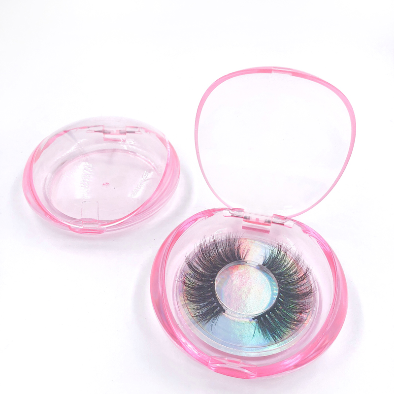 Pink and Clear Shell Box RB02
